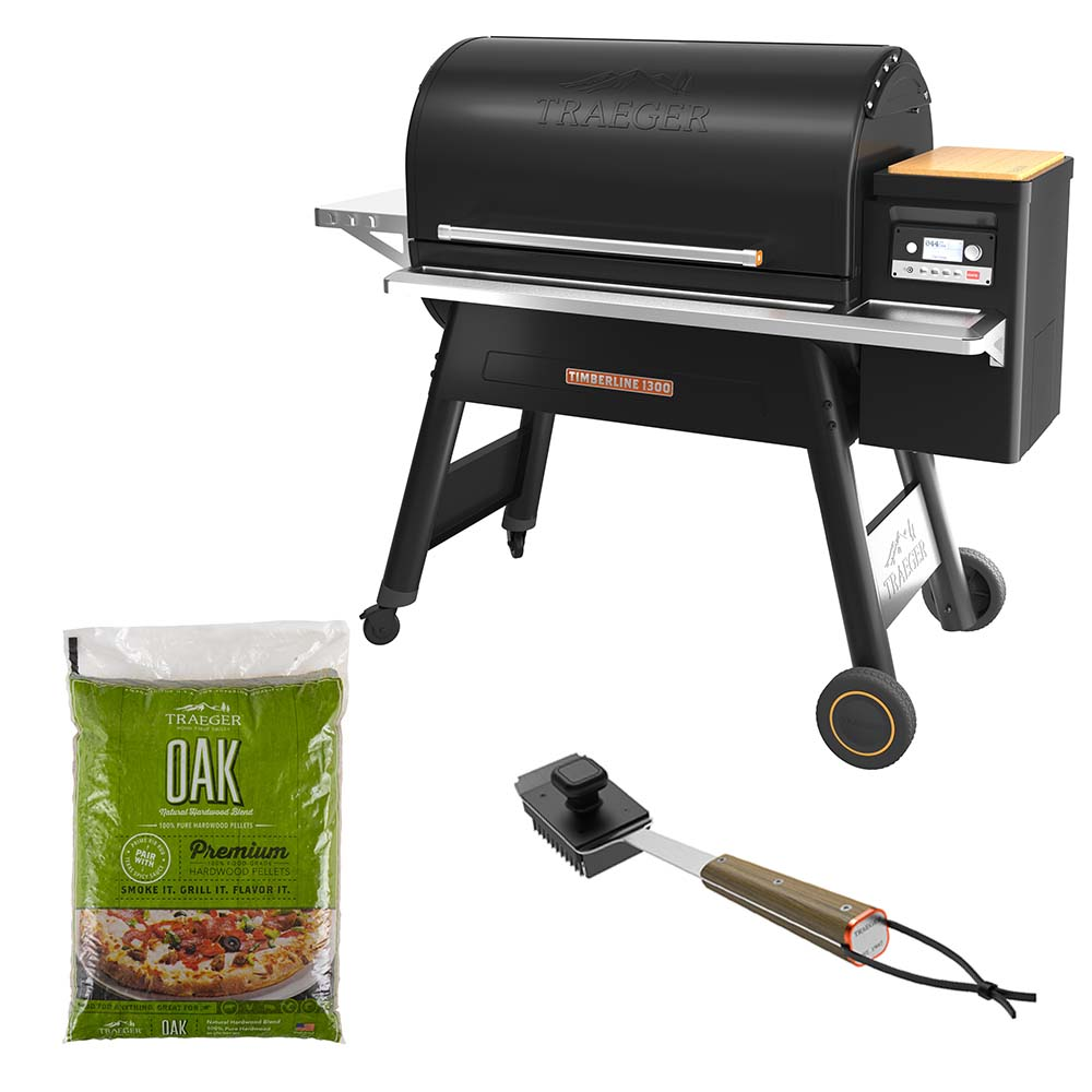 Set Barbecue a Pellet Traeger Timberline 1300 - Base (Disponibile in diverse versioni)